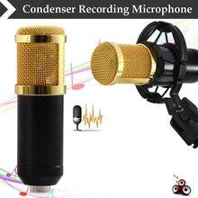 2015 hot venta BM - 800 dinámico con cable condensador Mic Sound Studio para Kit de grabación KTV Karaoke con montaje de choque(China (Mainland))
