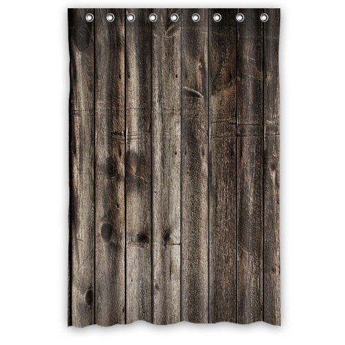 New Bathroom Fashion Vintage Rustic Old Barn Wood Shower