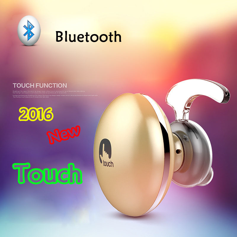 2016 Newest Touch Mini Wireless Bluetooth Earphone For Phone In Ear Headphones Auriculares Bluetooth Stereo Headset BR21(China (Mainland))