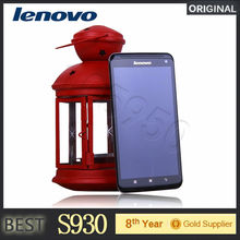 "6"" Original Lenovo S930 Mobile Phone MTK6582 Quad Core 1GB RAM 8GB ROM 8MP Camera Android 4.2 GPS 3G Wifi Phone"