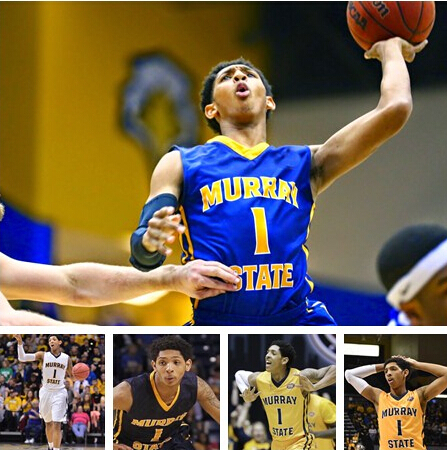 2015 draft NCAA murray state university #1 cameron payne Basketball Jersey White, Custom Team Name numbers 100% Stitched