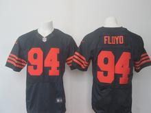 A+++ all stitched Chicago Bears #94 Leonard Floyd #34 Walter Payton 17 Alshon Jeffery 22 Matt Forte 13 Kevin White(China (Mainland))