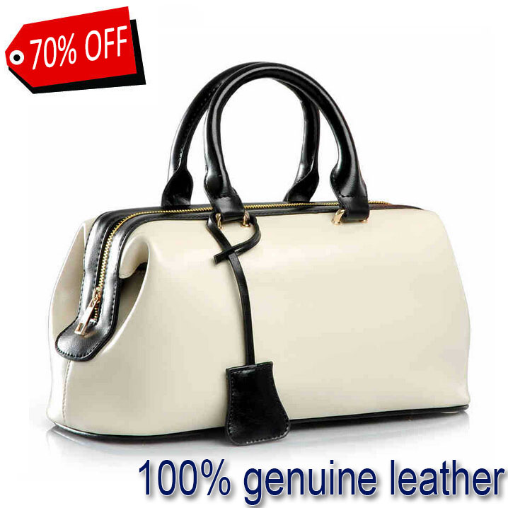 Genuine leather bag handbags 2015 summer style designer handbags high quality real leather handbags women famous brand Bags V8(China (Mainland))