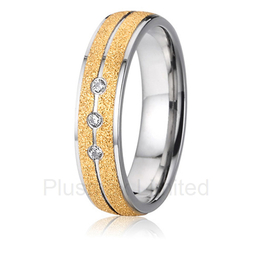 China Supplier amazing selection of titanium jewelry finger ring engagement wedding band for men and women(China (Mainland))