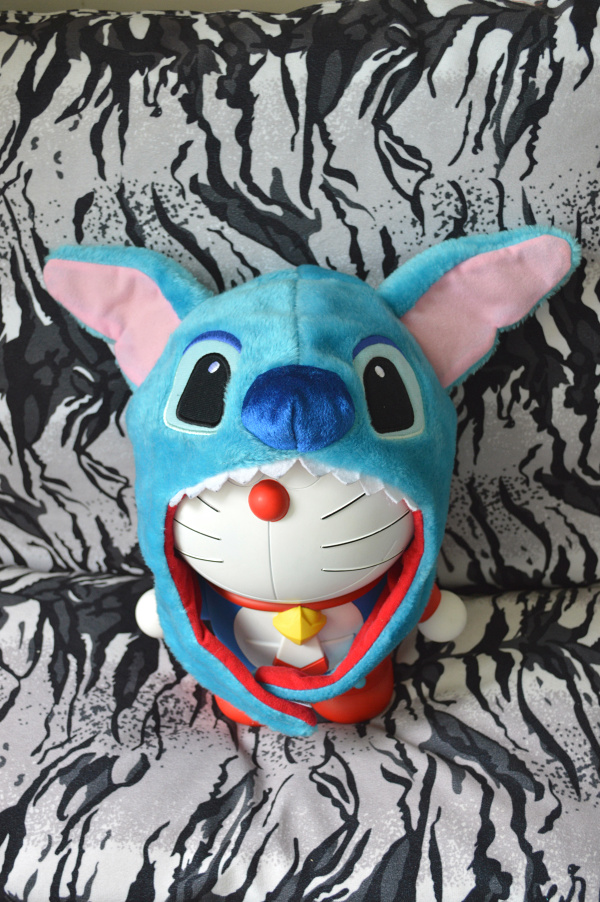 free shipping lilo and stitch plush stuffed hat toys for children action figure plush cosplay party hat toys kawaii gift1074(China (Mainland))