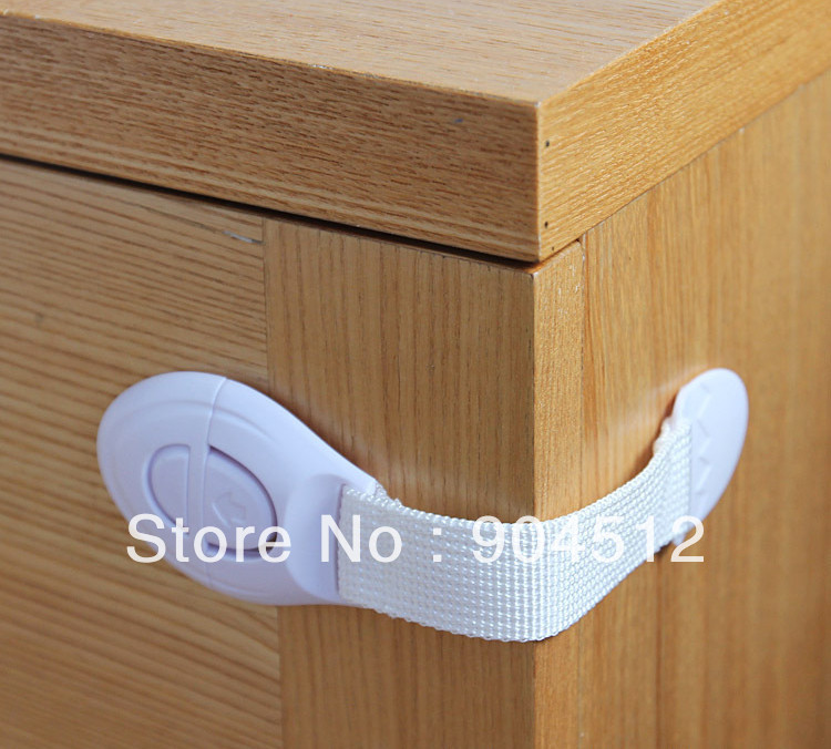 Free shipping toddlers door fridge toilet braid safety lock for child kids baby 2pcs in cabinet for Child safe bathroom door locks