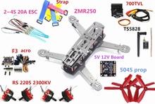 Buy ZMR250 250 Carbon Fiber F3 Flight Controller RS2205 2300KV Motor mini 2-4S 20A ESC 700TVL Camera TS5828 QAV250 RC Plane for $82.88 in AliExpress store