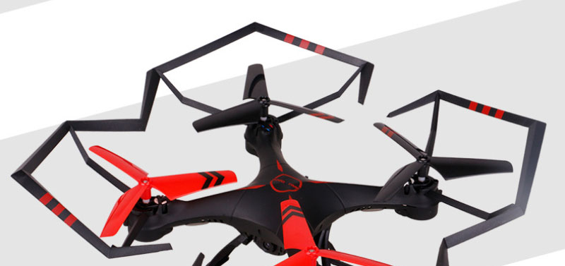 2017 professional aerial drone A25 2.4ghz Six axis 3 speeds remote control rc drone Quadcopter Aviation model with 2.0MP camera