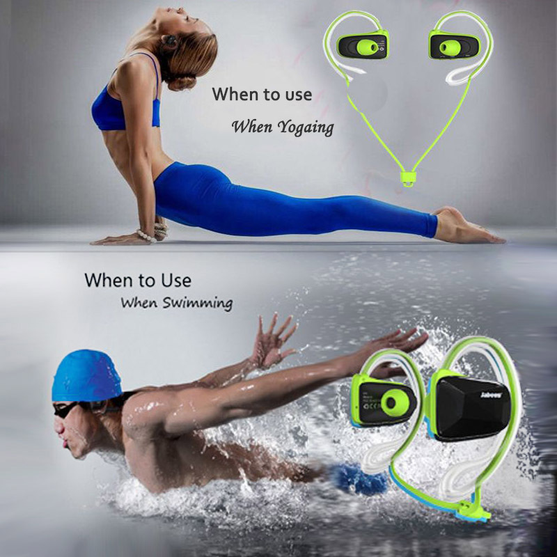 Wireless Bluetooth V4.0 Auriculares Earphone Professional Sports Stereo Waterproof Swimming Headsets Iphone/Andorid phone - Corcossi Science & Technology CO., LTD store