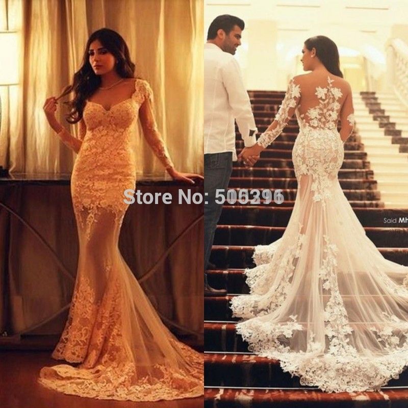 Wedding Dresses Lace Open Back. Lace Open Back Wedding Dress With ...