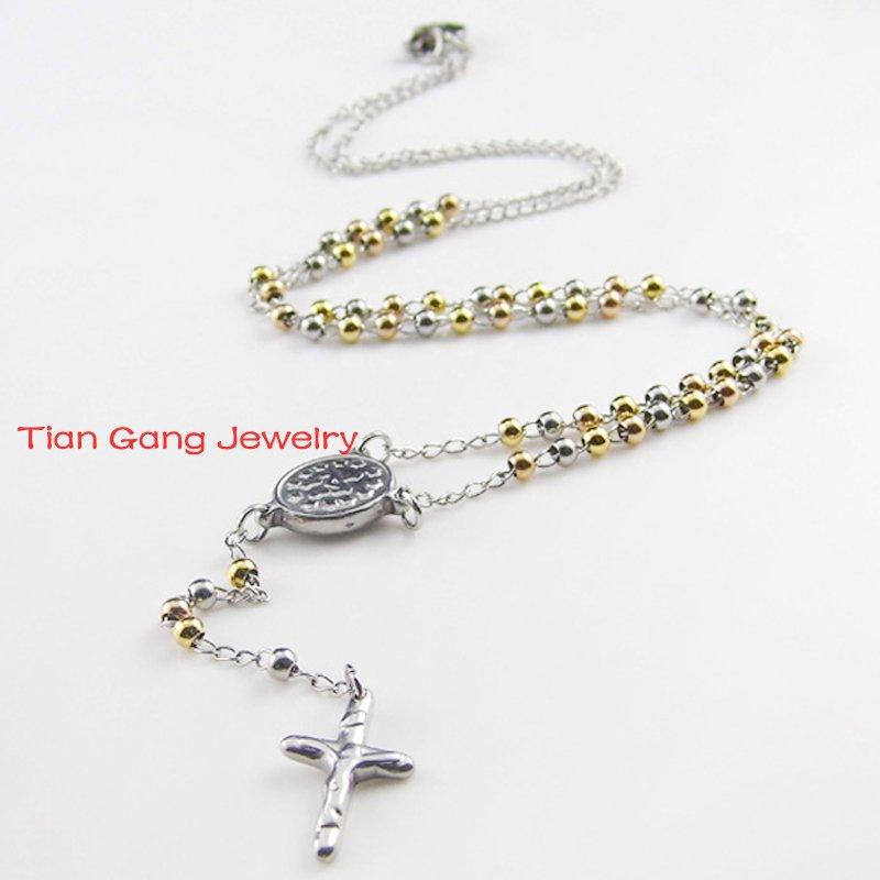 Catholic Cross Necklace For Men