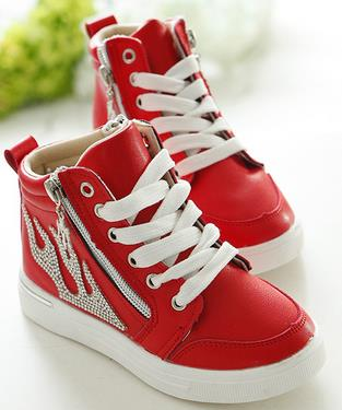 Childrens boots fashion princess kids australia girls red short single side zippers casual shoes sapato infantil wholesale 169a<br><br>Aliexpress