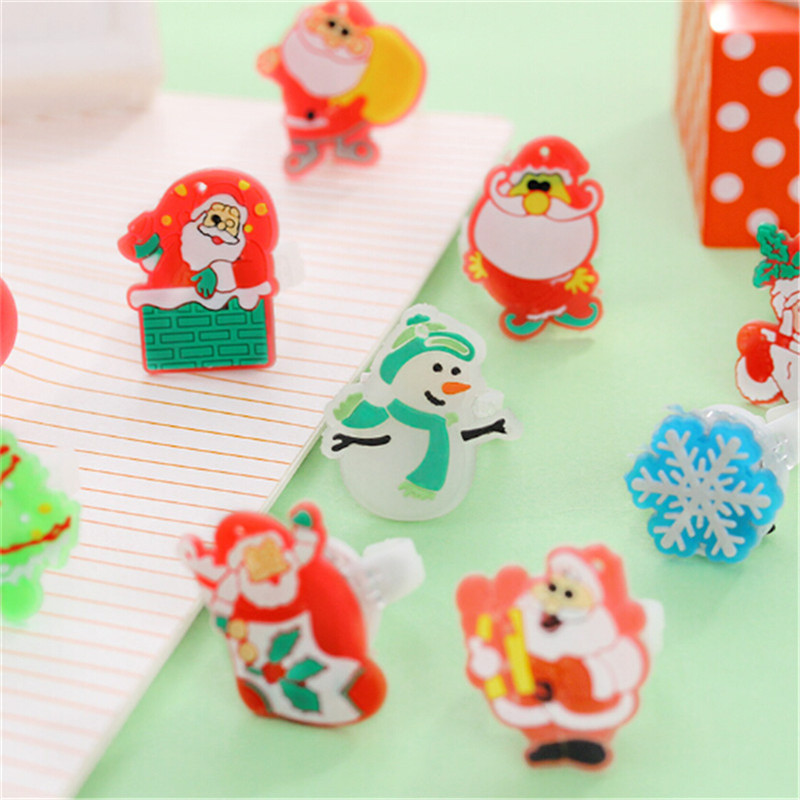 Christmas party decoration supplies cheap Led finger toys colorful glowing different types flash ring kids light up toys 100PCS(China (Mainland))