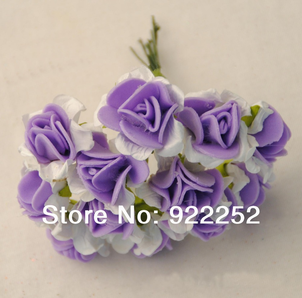 artificial floral foam cheap mini roses flower bouquet,diy craft accessories for wedding decoration hair garland&scrapbooking!(China (Mainland))