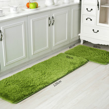 High-quality In Microfiber Plush Mat Kitchen Living Room Bedroom Bathroom Absorbent Mat Soft Non-slip Carpet Home Decoration(China (Mainland))