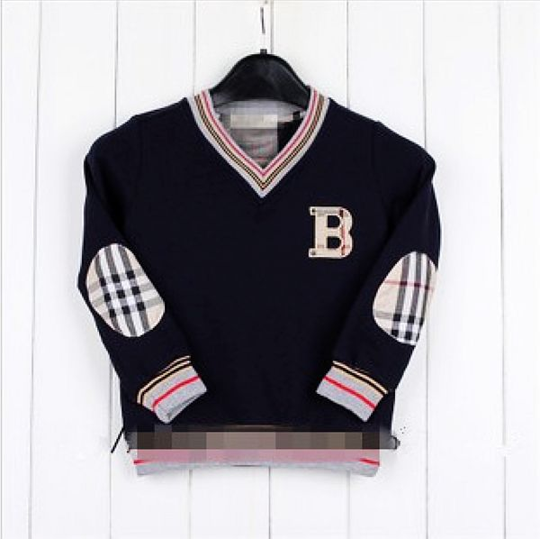 Promotions 2014 Spring and Autumn brand children sweater London design babi boy sweatershirt high quality kids pullovers,2-6T(China (Mainland))