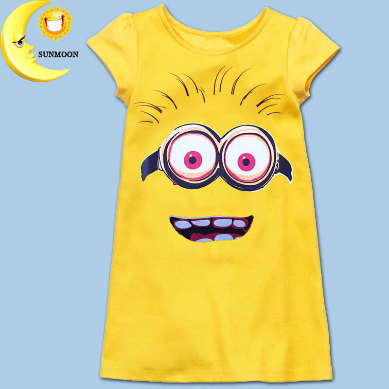 New girl dress kids clothes summer style baby girl dress casual cotton children clothing brand girls party princess vestidos(China (Mainland))