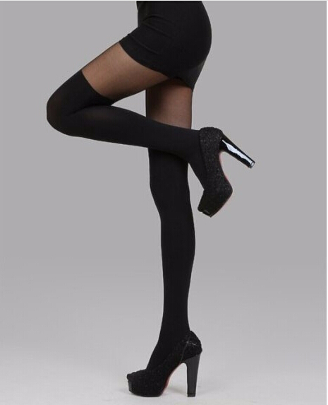 2015 new summer style sexy tights Pantyhose Elegant Women Mock Suspender Stockings Soft And Comfortable Tights Patterned medias(China (Mainland))