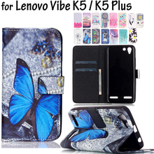 Buy 5.0inch 22 Styles Phone Wallet Leather Cases Lenovo Vibe K5 /K5Plus A6020 K5 Cover Flip Card Holders Funda Coque FOR Lenovo K5 for $3.64 in AliExpress store