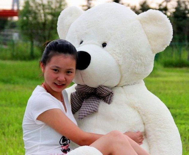 1.6m big size teddy bear plush soft toys teddy bear stuffed toys 3 color to choose freeshipping(China (Mainland))