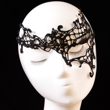 Photo Props Women Black Lace Cosplay Sexy Female Masquerade Mask