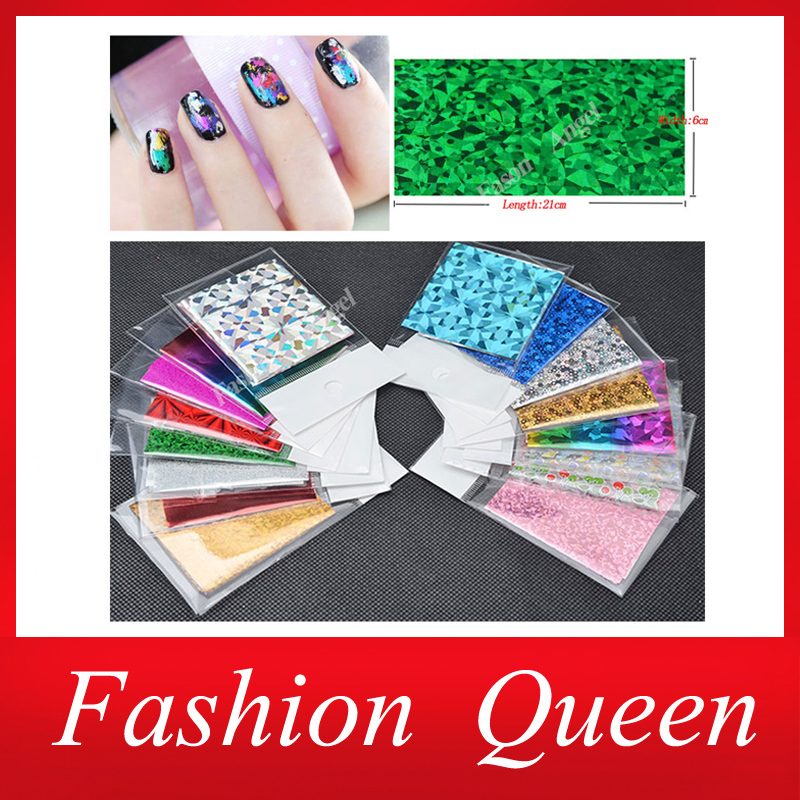 50Designs 25pcs Symphony Nail Foil Sticker Star Style Art Polish Transfer Decal DIY Beauty Craft Nail Decorations Supplies(China (Mainland))