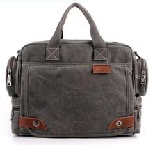 VEEVAN Man Fashionable Canvas Bag Male Shoulder Bags High Quality Laptop Briefcase bolsas femininas 2014 Men Messenger Bags(China (Mainland))