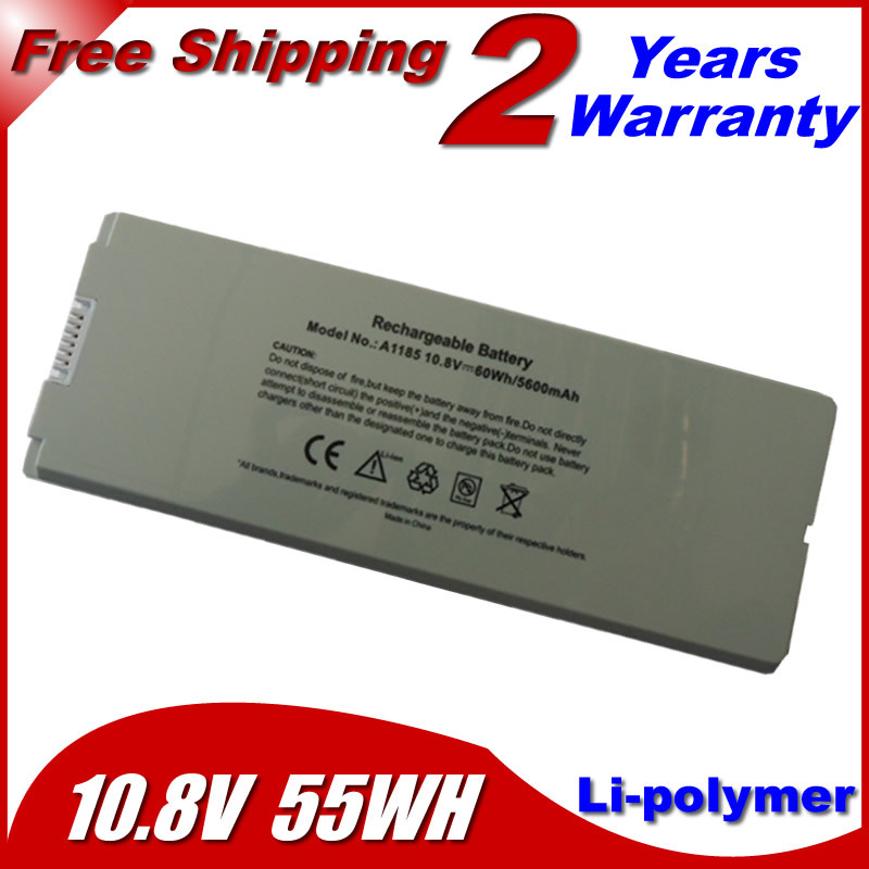 "Laptop Battery For apple MacBook 13"" A1181 MA472 MA701 A1185 MA566 MA566FE/A MA566G/A MA566J/A White(China (Mainland))"