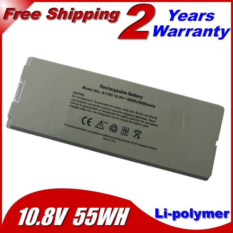 """Laptop Battery For apple MacBook 13"""" A1181 MA472 MA701 A1185 MA566 MA566FE/A MA566G/A MA566J/A White(China (Mainland))"""