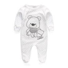 Детская Одежда 2017 Новый Новорожденный Мальчик Девушка Ползунки Одежда С Длинным Рукавом Младенческой Продукта(China (Mainland))