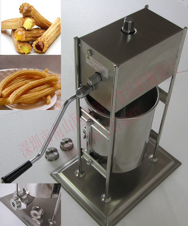 Free shipping 3L Spain Churro Machine with 3 size FLOWER CORE<br>