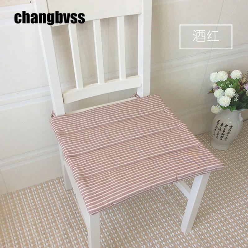 Compra cojines para sillas de rayas online al por mayor de for Cojin para silla de oficina
