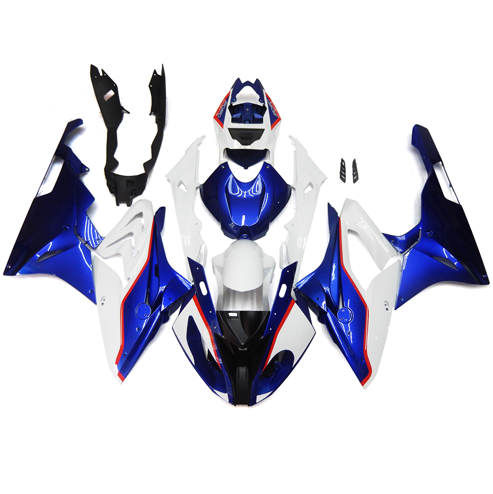 Complete Fairings For BMW S1000RR 15 16 S1000 RR 2015 2016 Injection ABS Motorcycle Plastic Fairing Kit Bodywork White Blue New(China (Mainland))