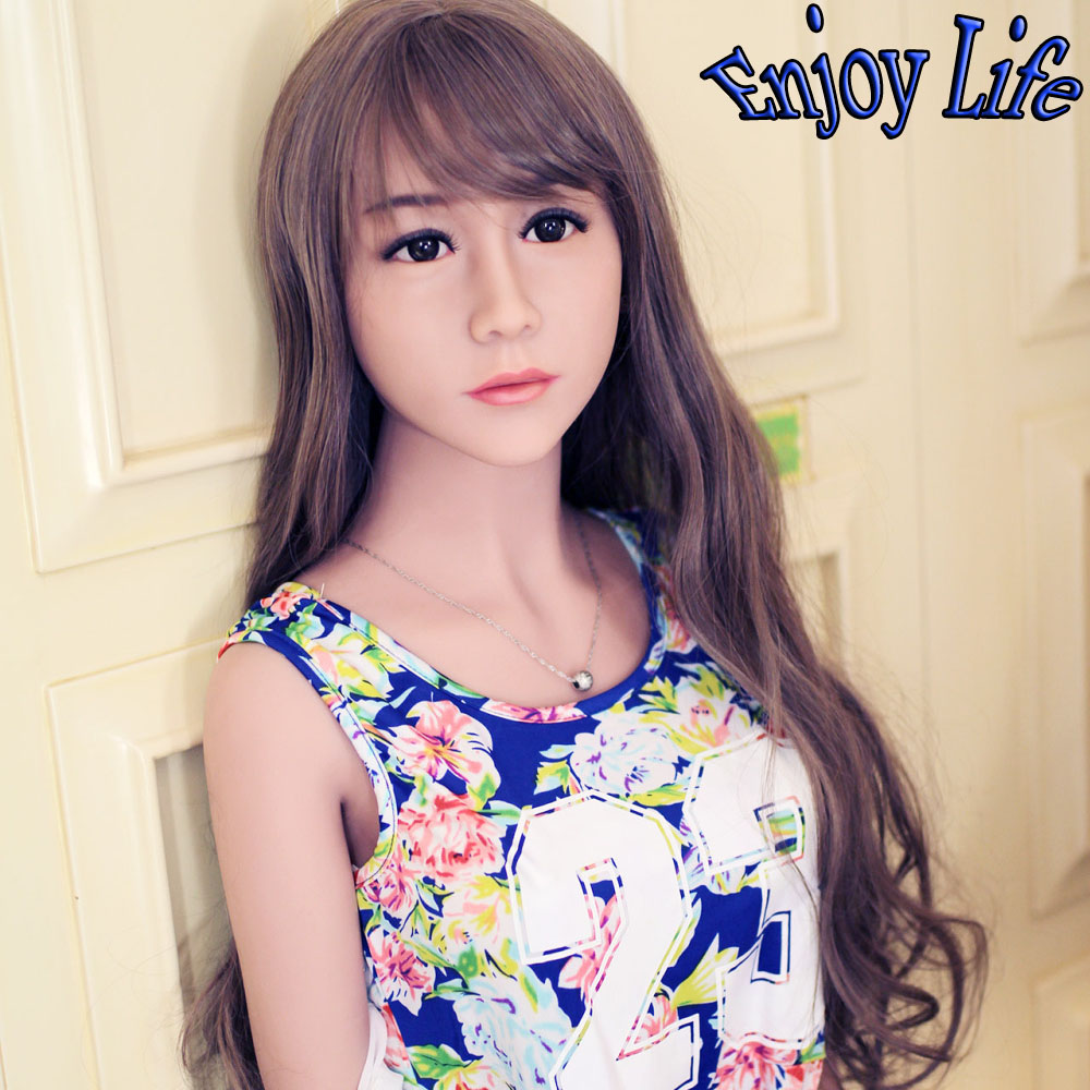 Top Quality 156cm Full Silicone Sex Dolls With Skeleton, Realistic Solid Silicone Love Doll For Men, Sex Pictures With Sex Dolls(China (Mainland))