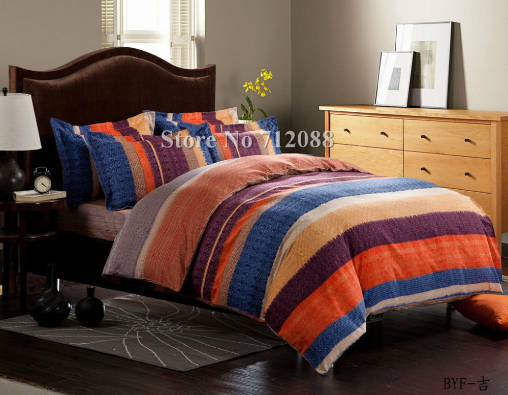 Top 28 Blue And Orange Comforter Set Wholesale Orange