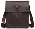 Vintage Crazy Horse Real Leather shoulder bag Men Crossbody Bag Messenger bag men Leather Bag Genuine