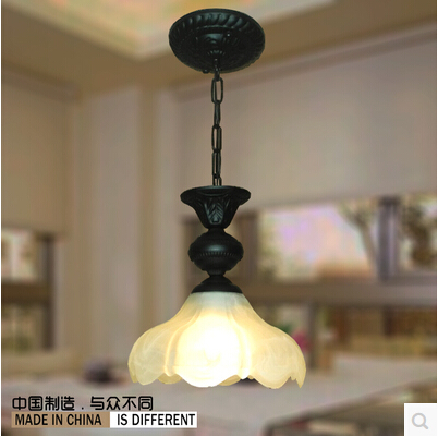 Vintage wrought iron lamps lighting pendant lights Retro chandeliers pendants modern lamp home decoration - Shenzhen HQ-Lighting CO.,Ltd store