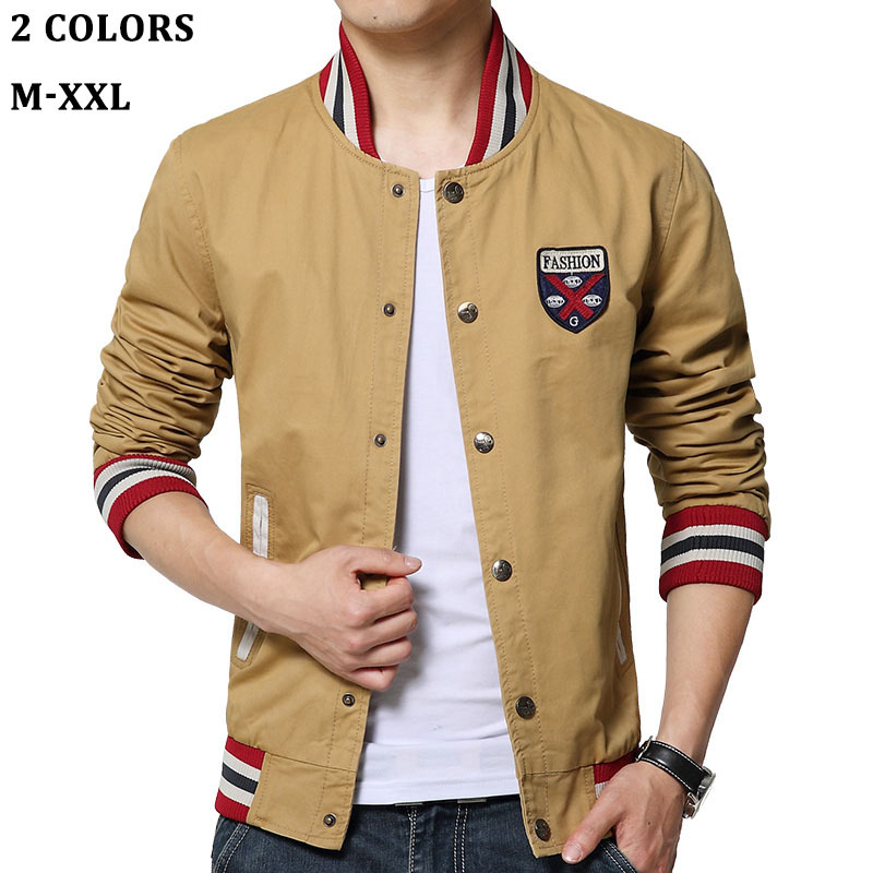 New 2015 Autumn Spring Men's Casual Jackets, Classic slim ...