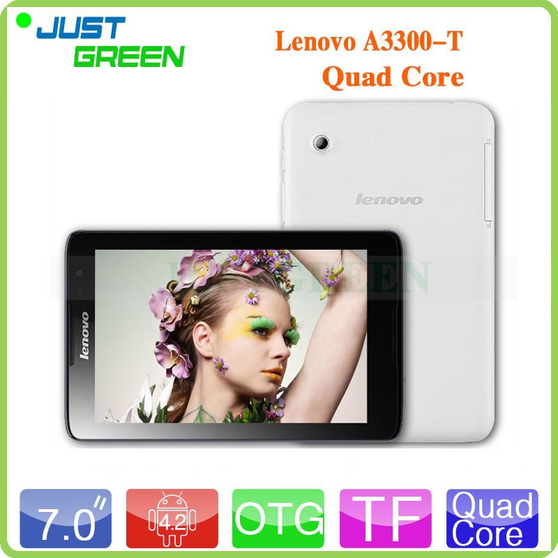 Планшетный ПК Lenovo a3300/t 7/3g Android 1 16 2 OTG GPS планшетный пк ampe core 2 16 1920 1200 ips android 4 2 3g 7inchtablet mtk6592 core1 7ghz otg