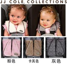 JJ cole Baby strollers organizer safety belt double faced protective case neck pad protector Free shipping(China (Mainland))