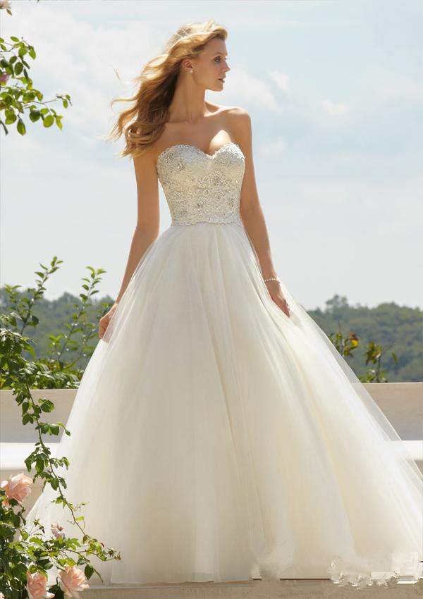 2015 hot sale cheap wedding gowns under 100 sweetheart for Wedding dress for sale cheap