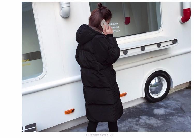 Free Shipping 2016 New Aarrivals Fashional Women jacket Hoody Long Style Warm Winter Coat Women Plus Size M~XXXL