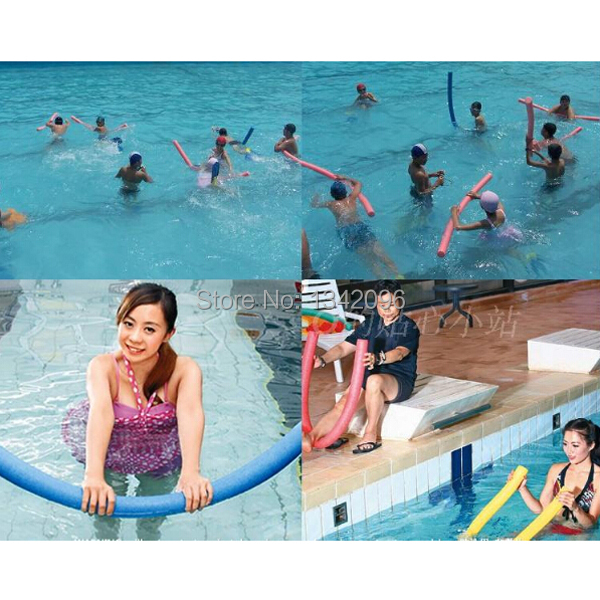 1 Pc Swimming Pool Noodle Water Noodle Foam Floats Kids Learn To Swim Adults Therapy Exercise