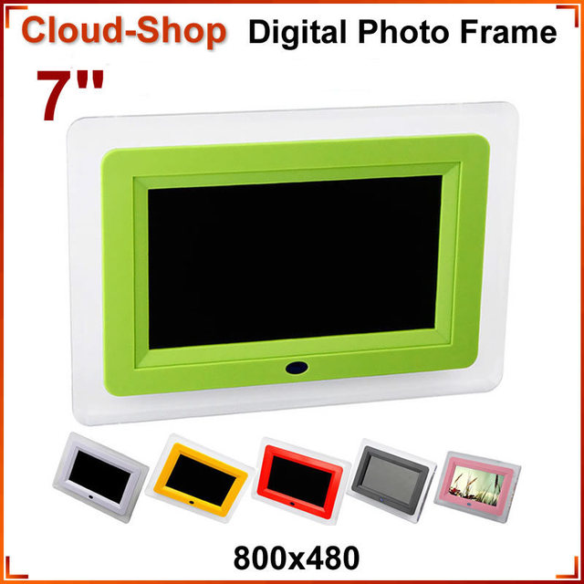7 inch Arcylic Digital Photo Frame with Light Remote Control Music VideoP Player Picture Frame orta Retrato Digital Frame Photo