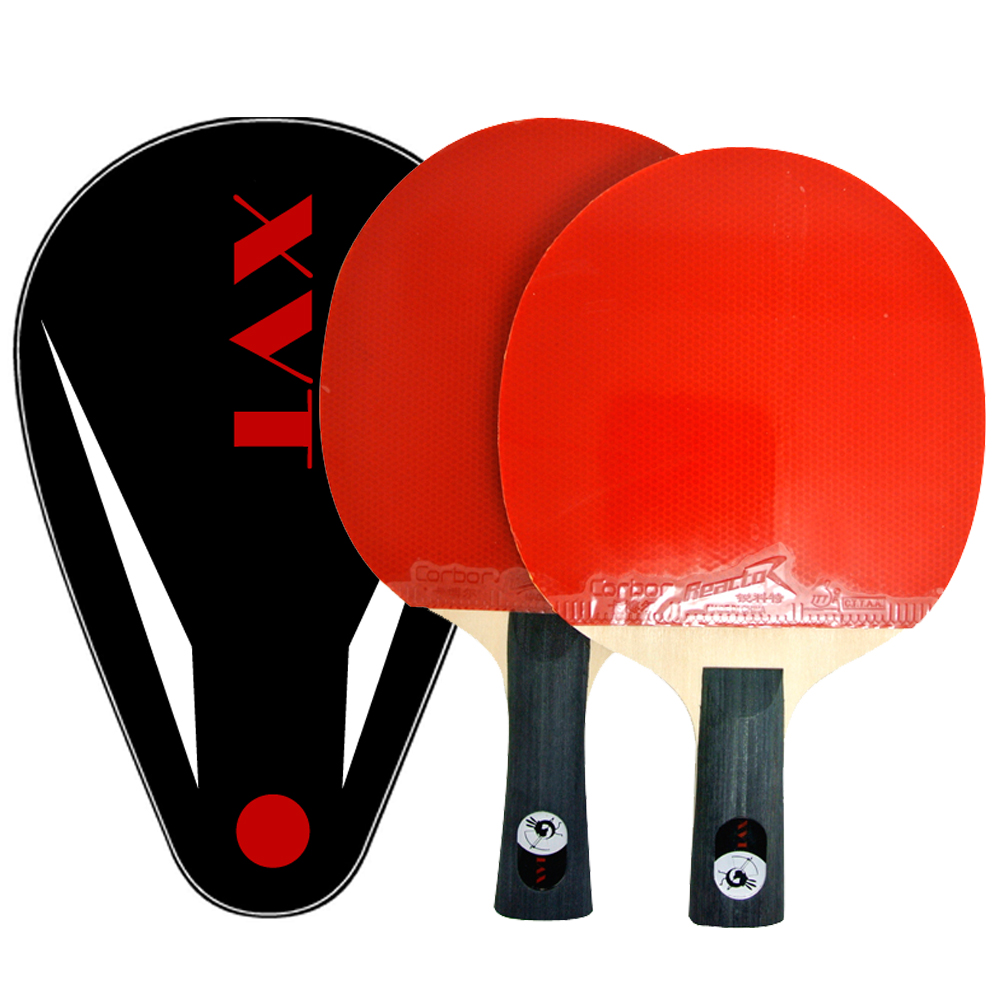 Sale ITTF Approved XVT Dragon Wood Hand Assembled table tennis racket table tennis bat/ ping pong racket Send XVT Whole Cover(China (Mainland))