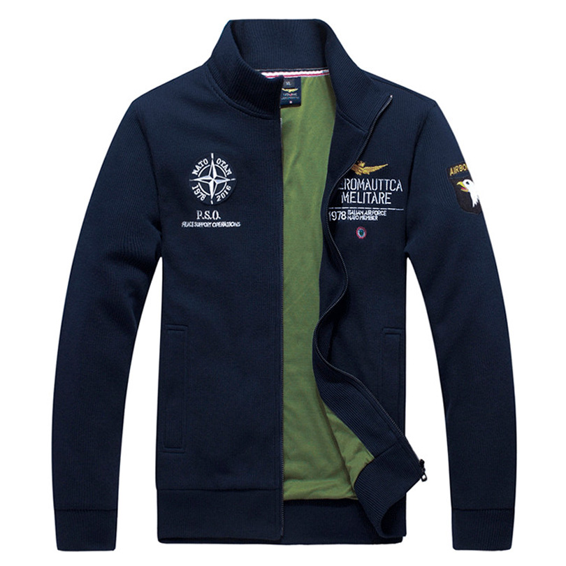 2015 bomber aeronautica militare men jacket ,Men's casual Outerwear Coat Air Force military army Jackets jaquetas veste homme
