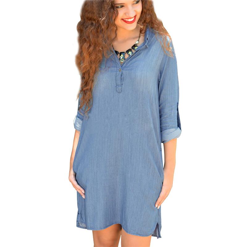 Online Get Cheap Light Blue Jean Dress -Aliexpress.com   Alibaba Group