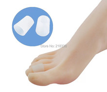 5 pieces lot Gel Toe Protector Cushion Corns Callus Bunion Gel Tube Feet Care Tool