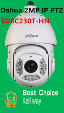 Dahua 2MP IP PTZ Speed dome Camera Support Face Detection and SD Card SD6C230T-HN , free DHL shipping