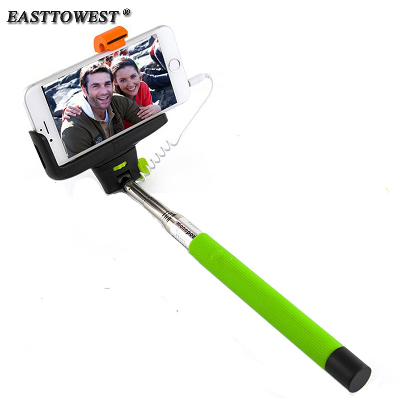 z07 7 audio cable wired selfie stick extendable monopod self stick for iphone 7 6 plus 5 5s 4s. Black Bedroom Furniture Sets. Home Design Ideas